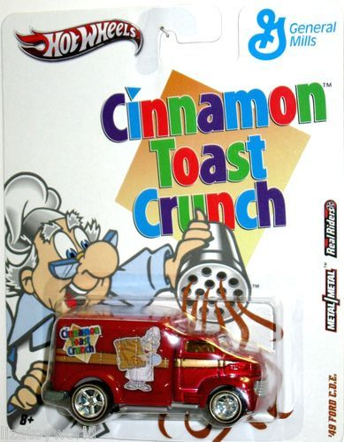 1949 Ford COE TRUCK Hot Wheels 2011 General Mills Cereal Cinnamon Toast Crunch