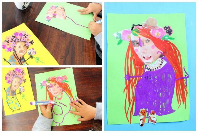 Divertida t cnica de collage para ni os blog de - Decoraciones infantiles para ninos ...