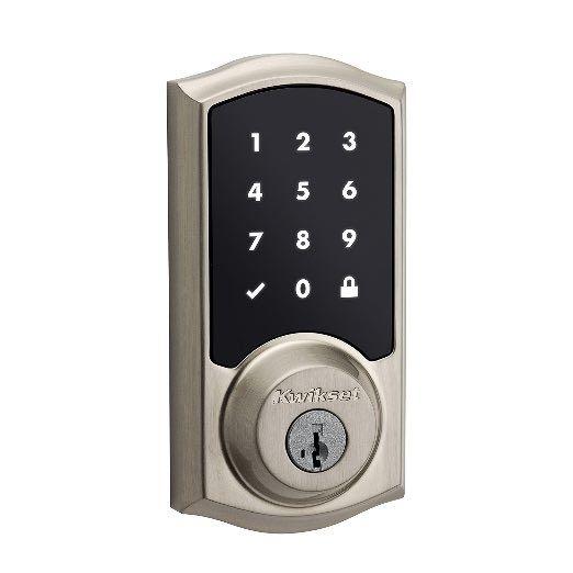 10 Best Electronic Deadbolt Locks | Vals Views | Kwikset 99160-002