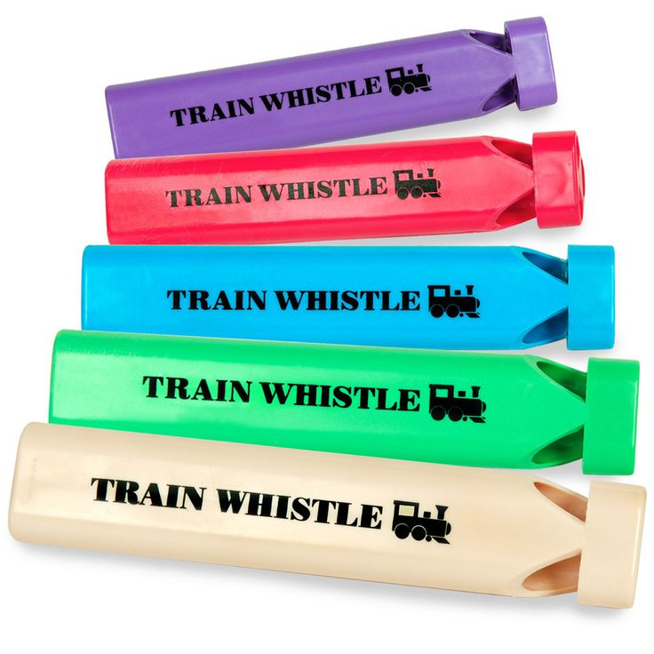 Plastic Train Whistles