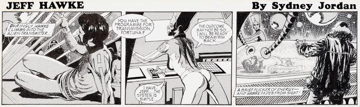 Sydney Jordan Jeff Hawke Daily Comic Strip #H6565 Original Art | Lot #11079…