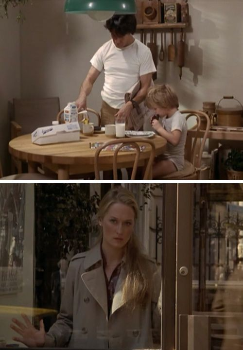 (i love d*s 'living in:' feature) i watched _kramer v. kramer_ two years ago on netflix, alone, and i CRIED. because the story was sad and because movies like this are few and far between anymore