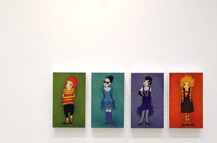 The works of Youk Shim-won @ Art Fair Tokyo 2013 © GalleryAM Co., Ltd