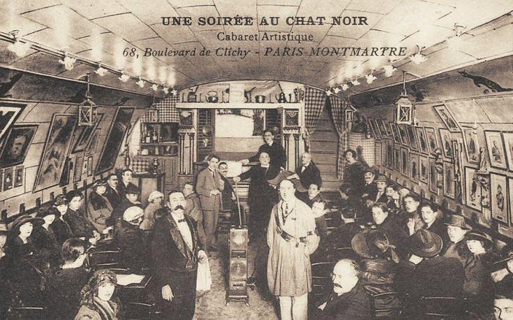 Les cabarets du Paris d'antan