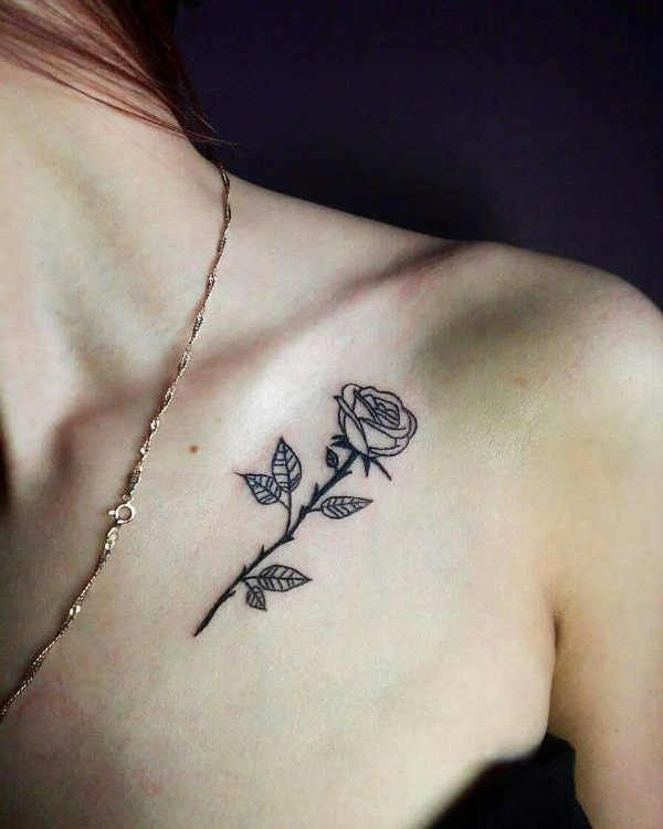 Sleutelbeen Tattoos 100 Prachtige En Originele Tattoo