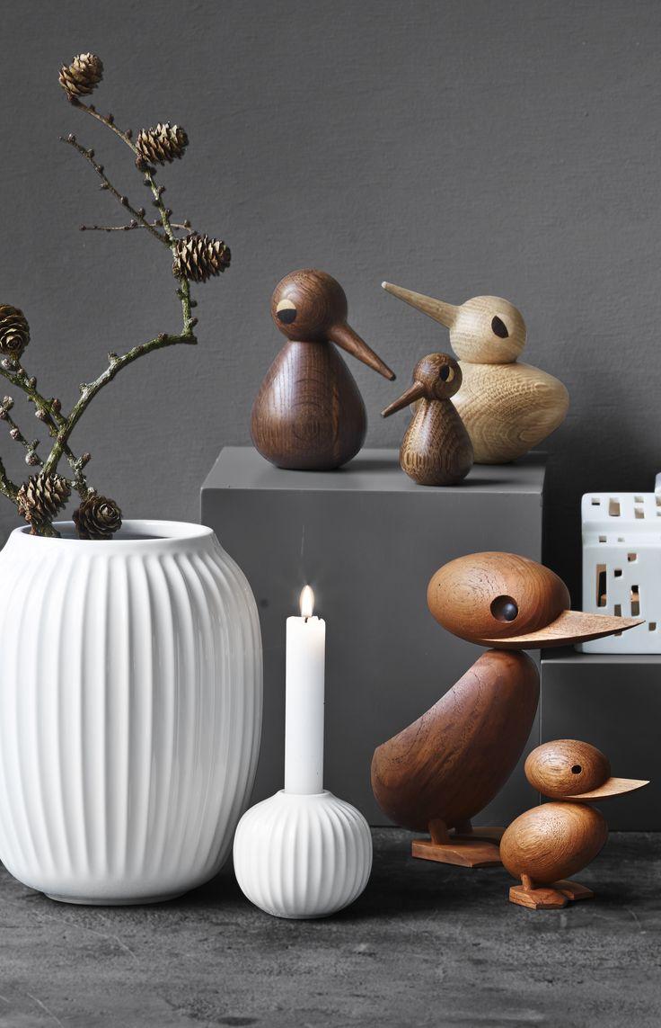 Dansk design i top klasse. Det er smukt og det er elegant. Hammershøi og Urbania fra Kähler, And & Ælling og Bird fra Architectmade. #DanskDesign #inspirationdk #Architectmade #KählerDesign