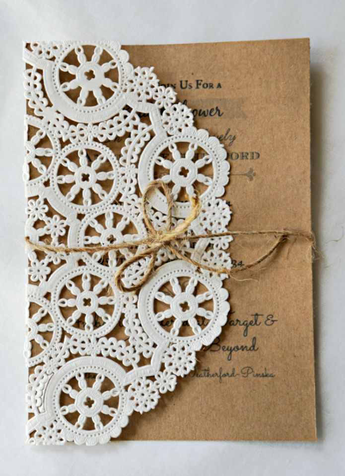 The 25+ best Doily invitations ideas on Pinterest   Diy wedding ...