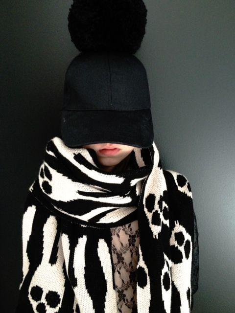 Caroline Bosmans scarves #kids #accessories