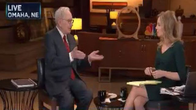 Buffett: Auto insurance rates are going up, distracted drivers a problem