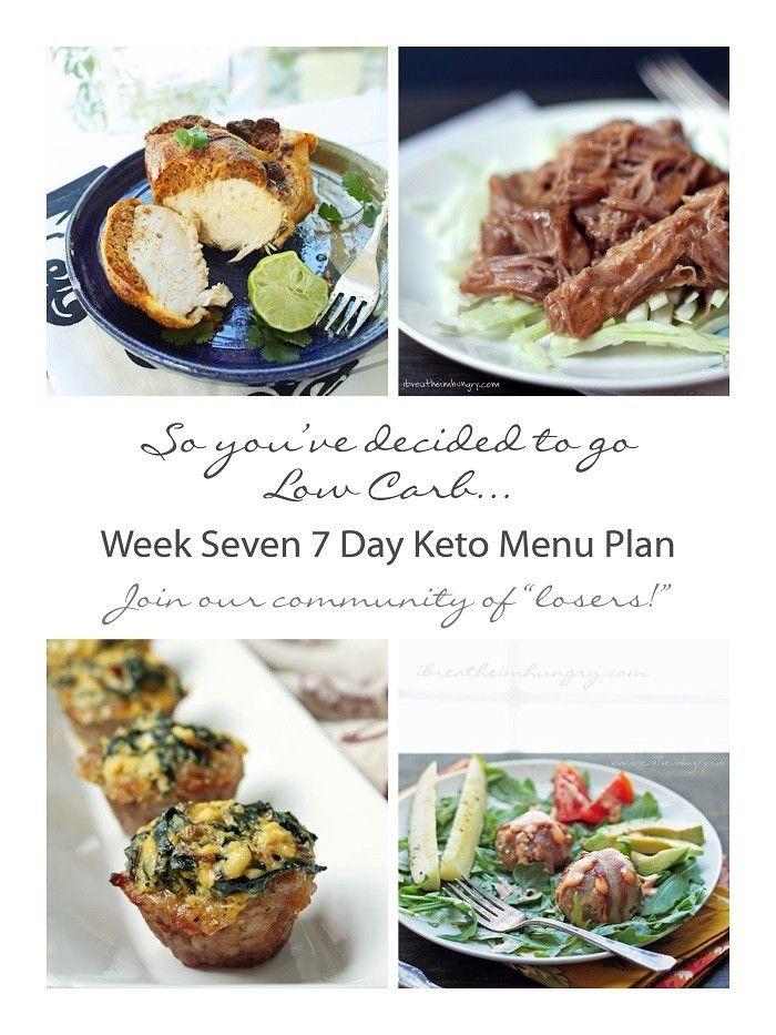 Week Seven 7 Day Keto (Low Carb) Menu Plan | keto | Low ...