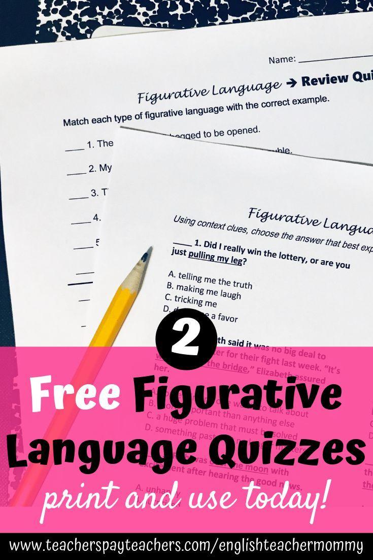 Figurative Language Worksheets Printable Digital Figurative Language Similes And Metaphors Figurative Language Practice