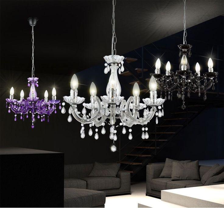 Unique Details zu Kronleuchter Wohnzimmer H nge Decken Pendel Leuchten Lampen verschiedene Farben Garden LivingColors