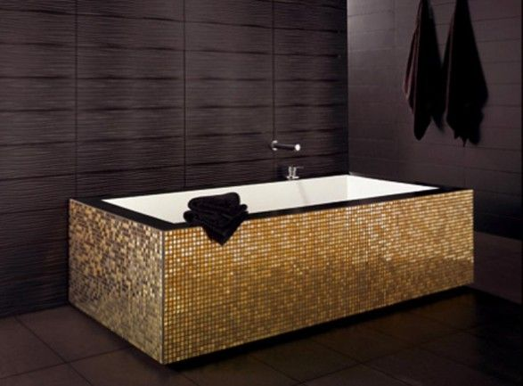gold bathroom - Google Search