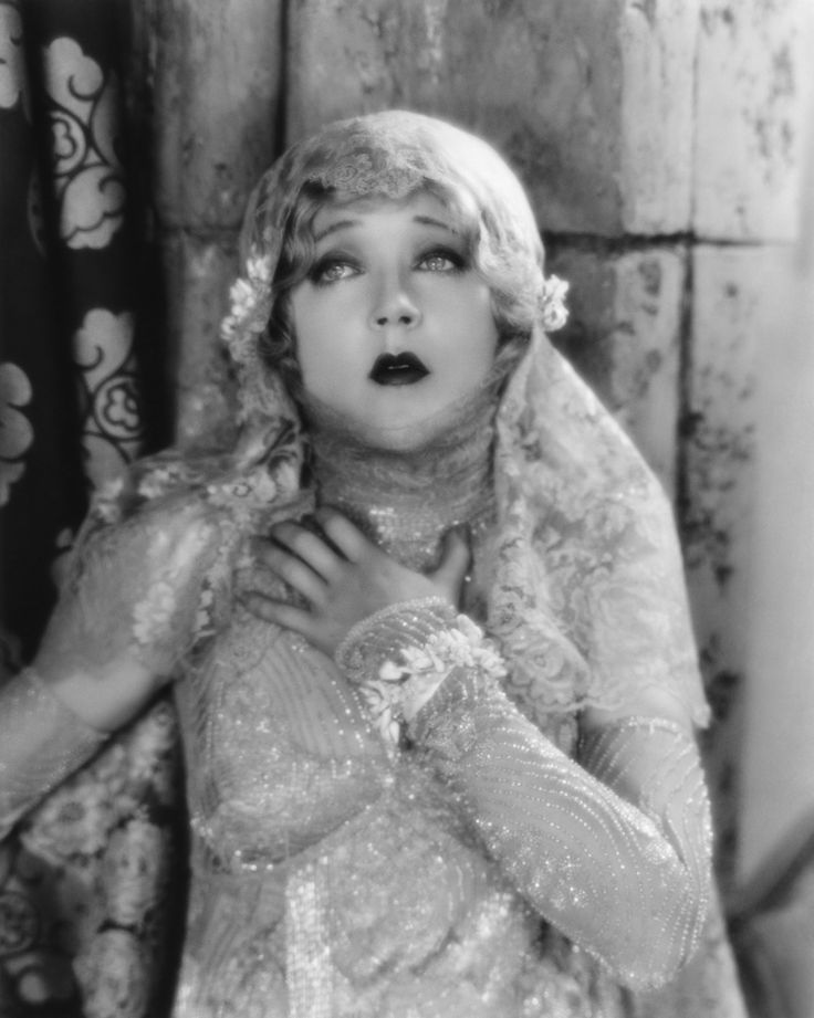 "Ziegfeld Girl: Mae Murray ~ (1889 – 1965) Performed in the Ziegfeld Follies of 1908 and 1915. Photo: ""THE MASKED BRIDE"" (MGM, 1925)."