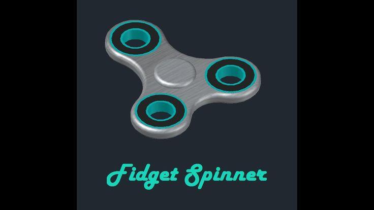 AutoCAD 3D Modeling | Design 5 | Fidget Spinner