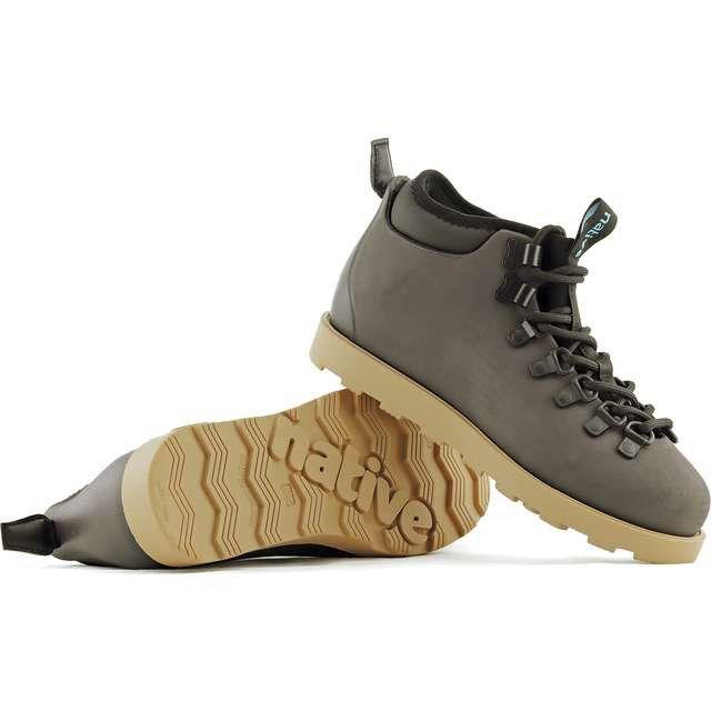 Trekkingowe Damskie Native Native Brazowe Fitzsimmons Citylite Onyx Black Stone Brown Timberland Boots Boots Hiking Boots