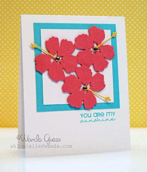 Nice Card Making Ideas With Flowers Part - 9: Summer Flowers! Memories BoxScrapbook CardsScrapbookingBirthday ...