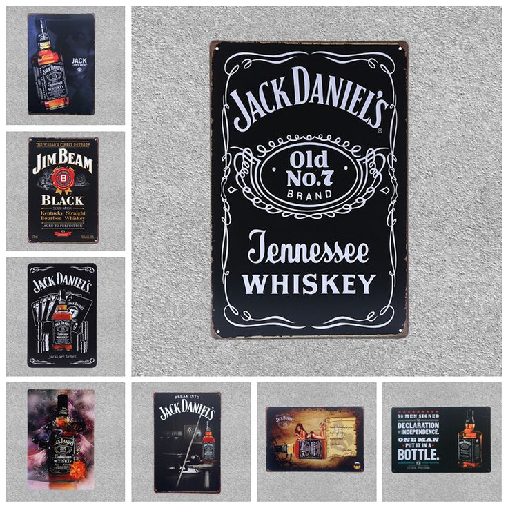 Share if you need this  Retro Jack Daniels Whiskey Metal Decorative Poster!!!  FREE Shipping Worldwide and 45 DAYS money back guarentee...  #barideas #barhacks