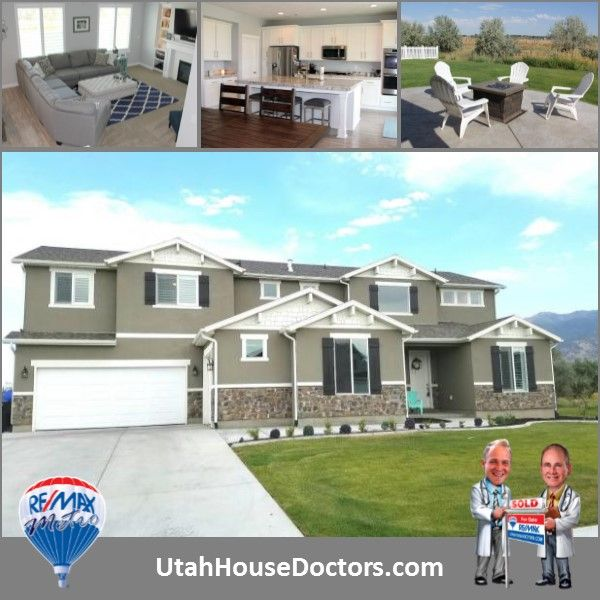 New craftsman's style home in Farmington with 5 bedrooms and 3 bathrooms. Massive bonus room. Huge garage. Smart home electronics.  Call or text for details 801-529-2688