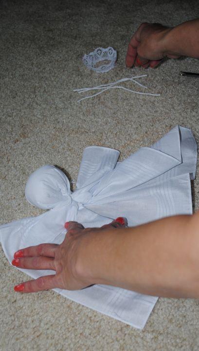 hankerchief dolls | Fashion meets Food: Old Fashioned Handkerchief Doll