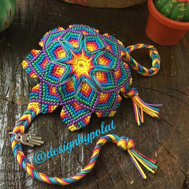 -2-Sağlıkla huzurla mutlu sabahlara uyanmak dileğiyle 🙏🏻 Çift taraflı kullanabilir mandala bilekliğim sevdiğinin bileğine doğru gitmek üzere hazırlandı ✌️️😘🎈 @zynporenk ❤️şans getirmesi dileğiyle ☀️ #designbypolat #mandala #macrame #macramebracelet #micromacrame #accessories #jewellery #colorful #style #unique #bestmasterpiece #spiritualjewelry #aniyakala #vscocam  #photooftheday #handmade #örgü #ethnic #bohochic #hippiestyle #gypsy #bohemian