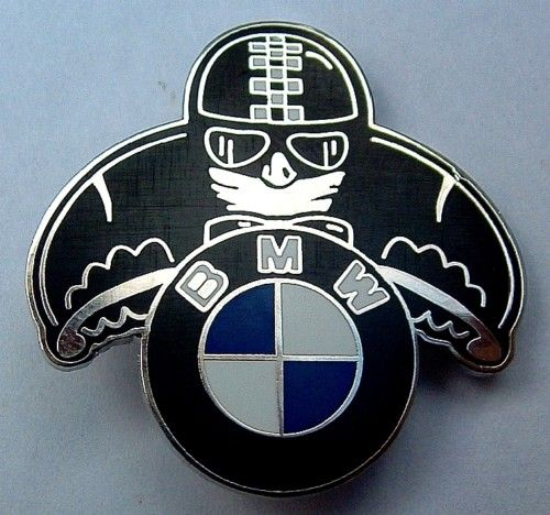 Bmw Cafe Racer enamelled badge