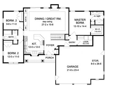 Best 25+ Ranch Floor Plans Ideas On Pinterest | Ranch House Plans, House  Plans And Ranch Style Floor Plans