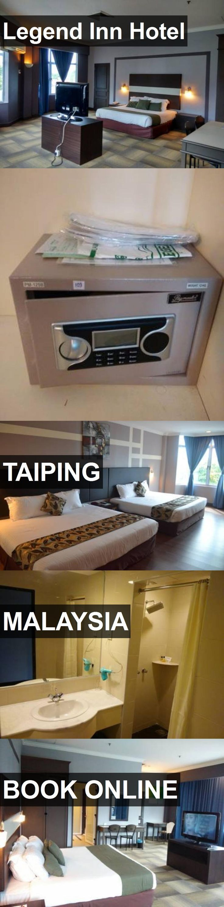 Hotel Legend Inn Hotel in Taiping, Malaysia. For more information, photos, reviews and best prices please follow the link. #Malaysia #Taiping #hotel #travel #vacation
