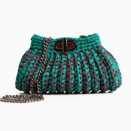 Bolsas de Crochê Catarina Mina