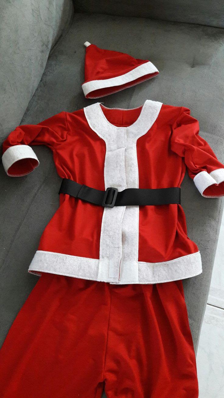 Roupa Papai Noel ingantil