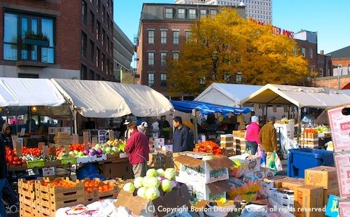 Haymarket, Boston's centuries-old open air market, offers you the best deals on fresh produce in the historic heart of the city, just steps away from Faneuil Hall Marketplace and the elegant Millennium Bostonian Hotel.