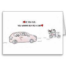 Why I Love you Card