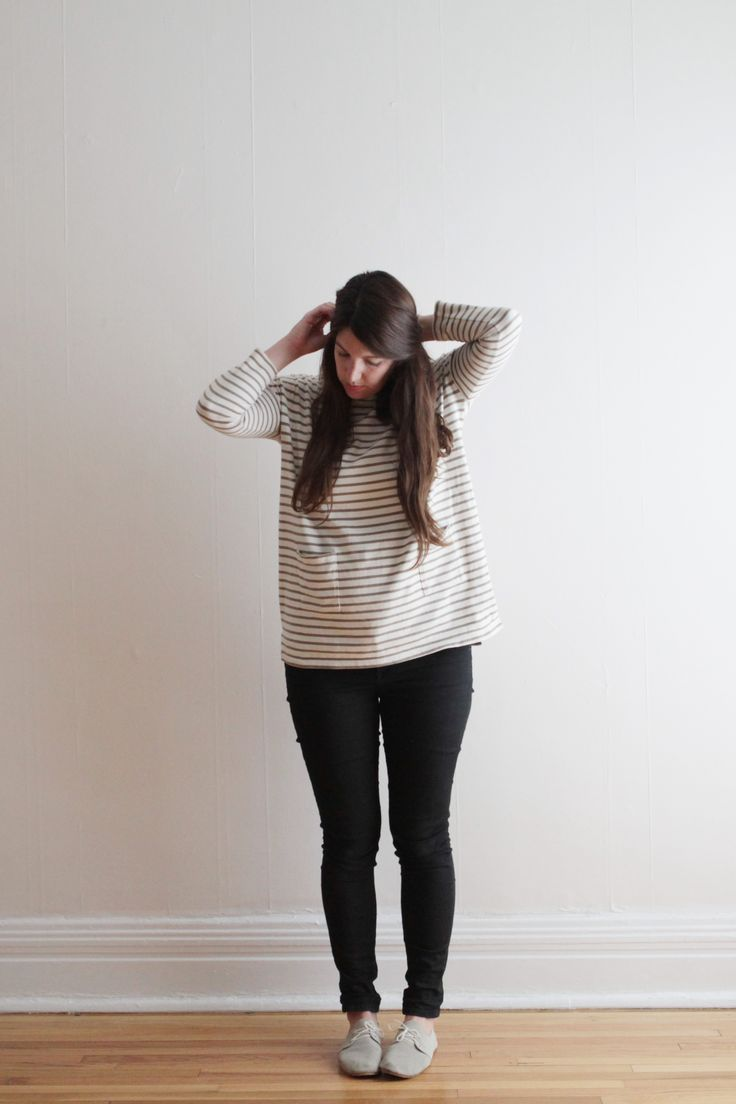 @amandajanejones  in our Bateau Top for her edition of HATCH Pages on the #HATCHland blog.