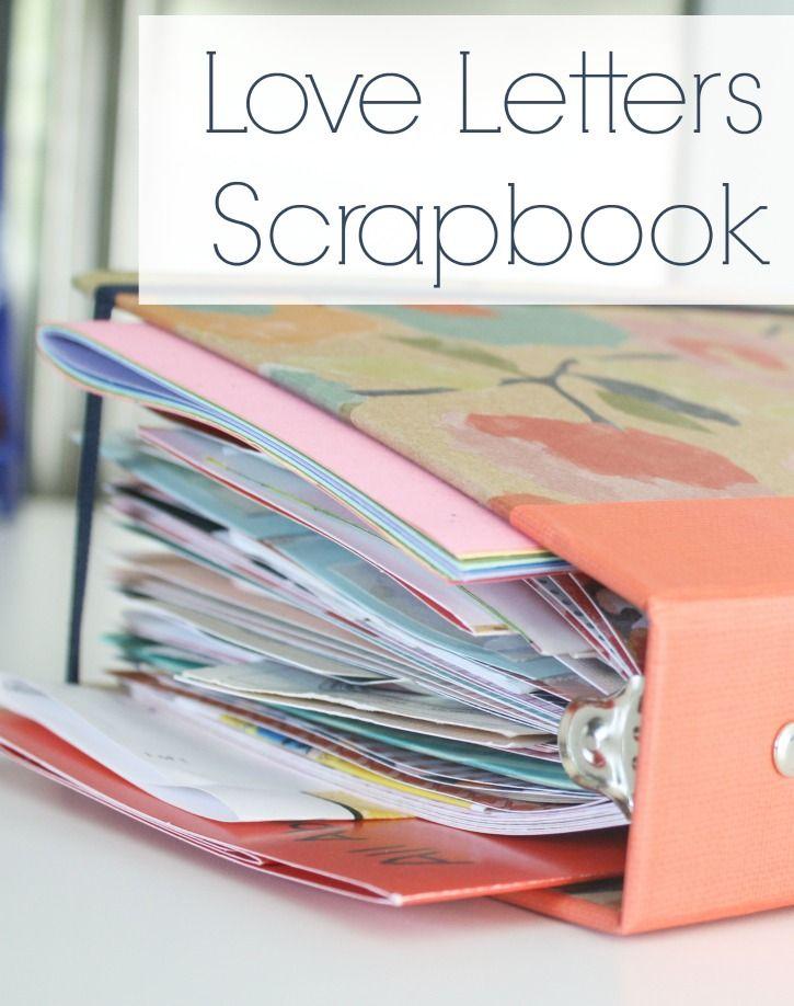 Love Letters Scrapbook