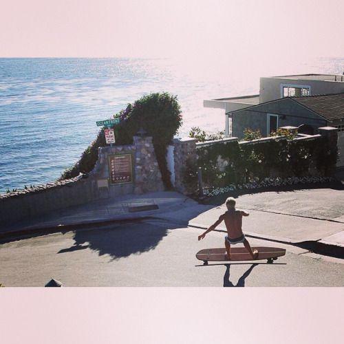 Just go big! #Hamboards #Longboard #Surfing #surfskate #skatesurf #downhill