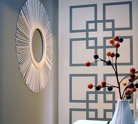 graphic statement wall - Wall Design For Home