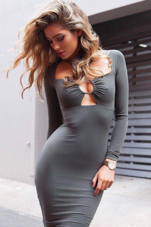 14403df2e2da Fitness Girl | Fitness Exercises | Sexy dresses, Fashion, Tight dresses