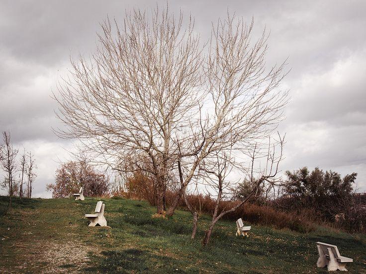 https://flic.kr/p/CzsZ9v | Traditional Landscape | Week 2 of my 52 week Photography.  Panchine per pensatori solitari