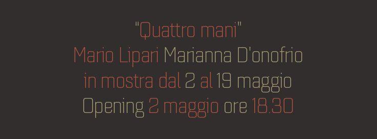 Mario Lipari e Marianna D'Onofrio in Mostra... - Mithril ArtMithril Art