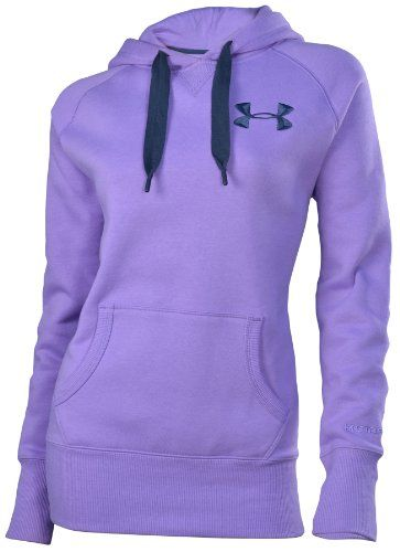 I like this underarmour style the best Under Armour Women's UA Charged Cotton® Storm Fleece Hoody:Amazon:Clothing