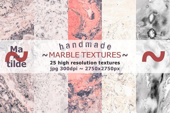 Marble Textures by Matilde on @creativemarket