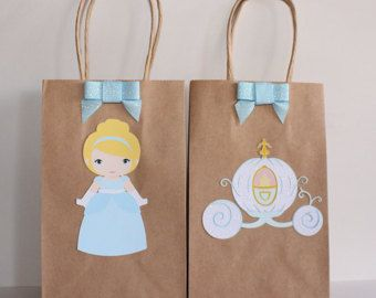 Cinderella Party Favor Bags