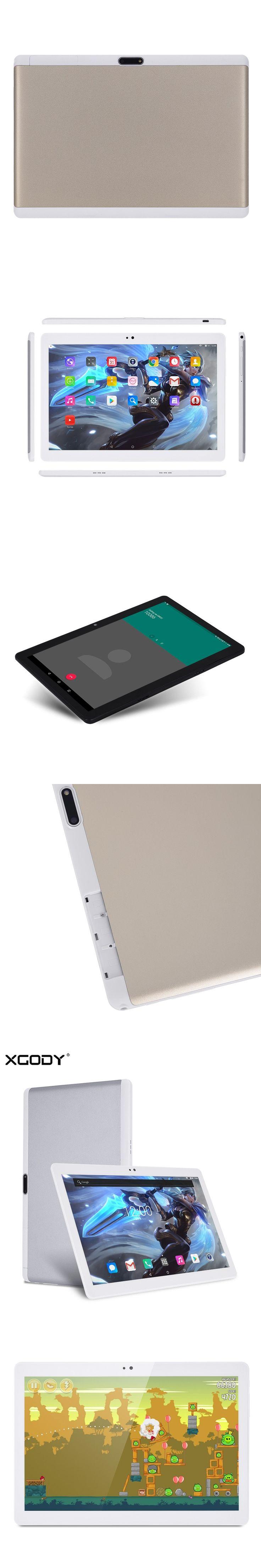 Origional XGODY Y107 4G LTE 10 Inch Tablet PC Android 7.0 MTK MT6753 Octa Core 2G RAM 32G ROM 1920*1200 IPS Tablets OTG Dual Sim