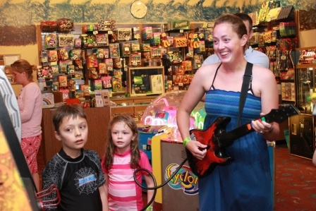 Shop around for your necessities or a new toy in our gift shop ;)  http://www.duluthwaterpark.com/