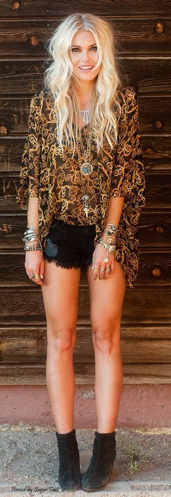 48 Boho Chic Fashions Ideas You Should Try Now! - Page 2 of 5 - Trend To Wear