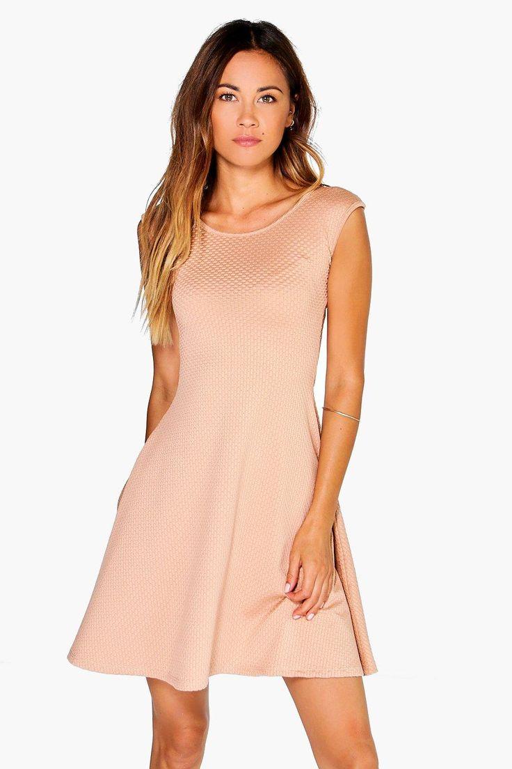 Eleanor Textured Swing Dress