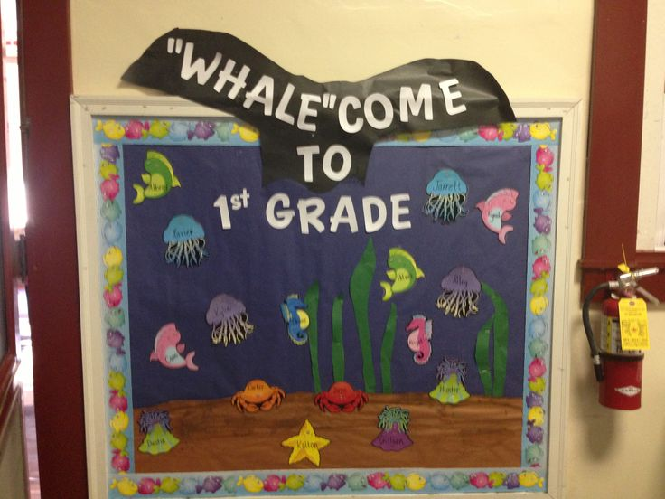 Whale Classroom Decor ~ Quot whale come to first grade back school ocean theme