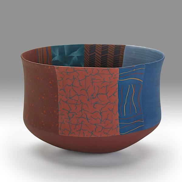 Thomas Hoadley Nerikomi Porcelain Bowl Pottery Bowls