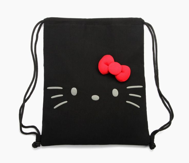 Hello Kitty drawstring bag: we could all use one