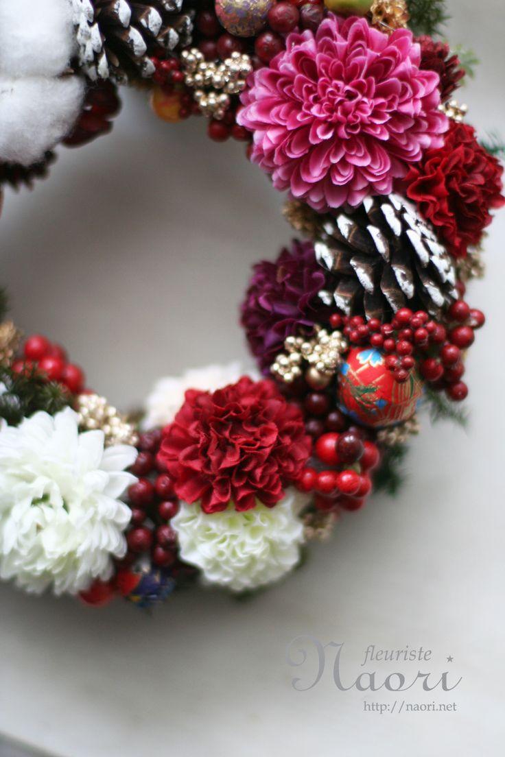Japanese New Year wreath 2014